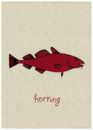 un hareng rouge